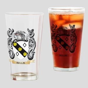 Bullis Family Crest - Bullis Coat o Drinking Glass