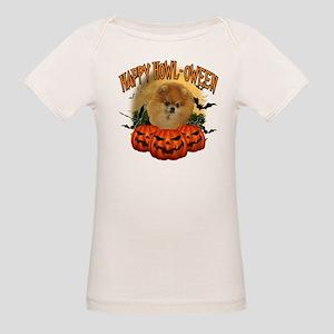 Happy Halloween Pomeranian Organic Baby T-Shir