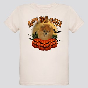 Happy Halloween Pomeranian Organic Kids T-Shir