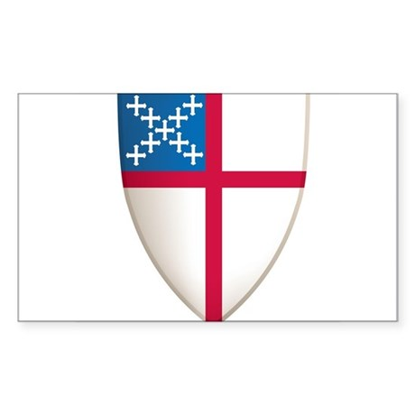 Episcopal Shield Sticker
