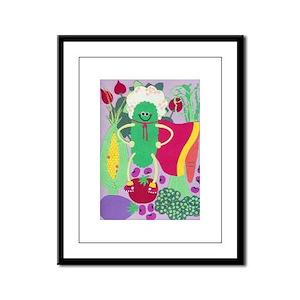 Super Pickle Framed Panel Print