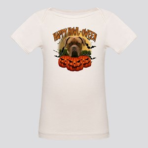 Happy Halloween Mastiff Organic Baby T-Shirt