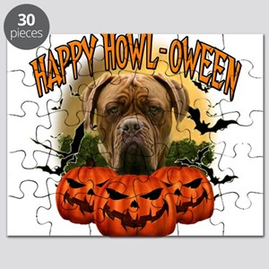 Happy Halloween Mastiff Puzzle