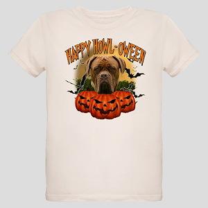 Happy Halloween Mastiff Organic Kids T-Shirt