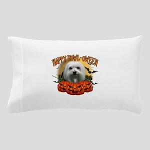 Happy Halloween Maltese Pillow Case