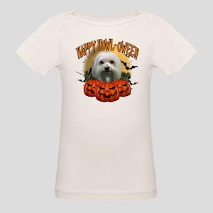 Happy Halloween Maltese Organic Baby T-Shirt