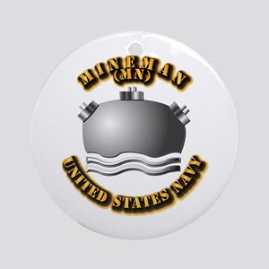 Navy - Rate - MN Ornament (Round)