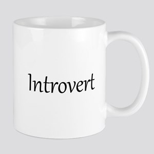 Extrovert - Introvert Mug