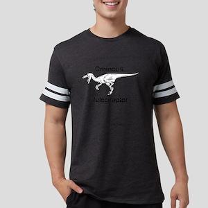 Ominous Velociraptor Logo Shir Mens Football Shirt