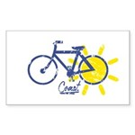 Coast Sticker (Rectangle 10 pk)
