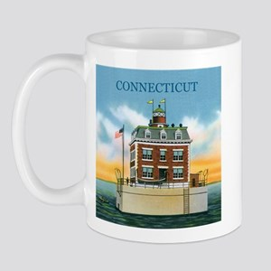 Connecticut New London Ledge Light Mug