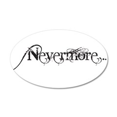 Nevermore Poe Wall Decal