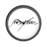 Nevermore Poe Wall Clock