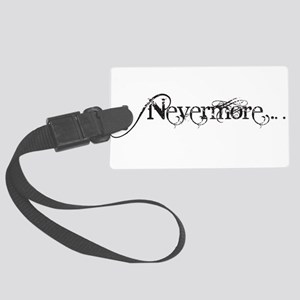 Nevermore Poe Large Luggage Tag