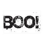 Boo! 35x21 Wall Decal