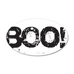 Boo! 35x21 Oval Wall Decal