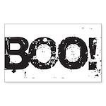 Boo! Sticker (Rectangle 50 pk)