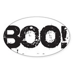 Boo! Sticker (Oval 10 pk)