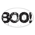 Boo! Sticker (Oval)