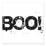 Boo! Square Car Magnet 3