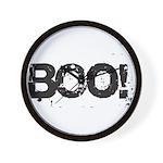 Boo! Wall Clock