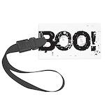 Boo! Large Luggage Tag