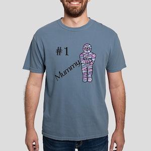#1 Mummy Mens Comfort Colors Shirt