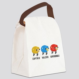 Star Trek Sheep Canvas Lunch Bag