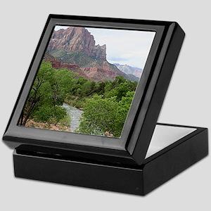 Zion National Park, Utah Keepsake Box