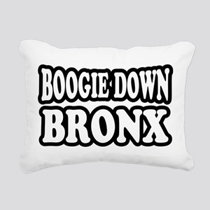 Boogie Down Bronx Rectangular Canvas Pillow