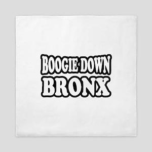 Boogie Down Bronx Queen Duvet