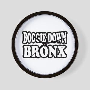 Boogie Down Bronx Wall Clock