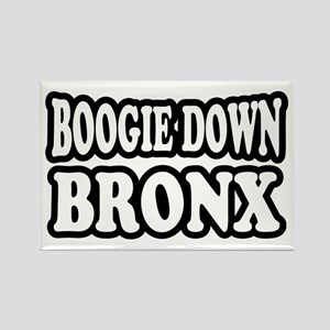 Boogie Down Bronx Rectangle Magnet