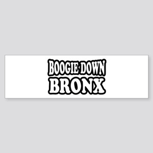 Boogie Down Bronx Sticker (Bumper)