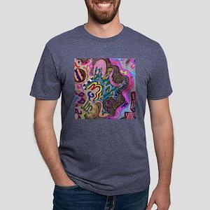dance_tile Mens Tri-blend T-Shirt