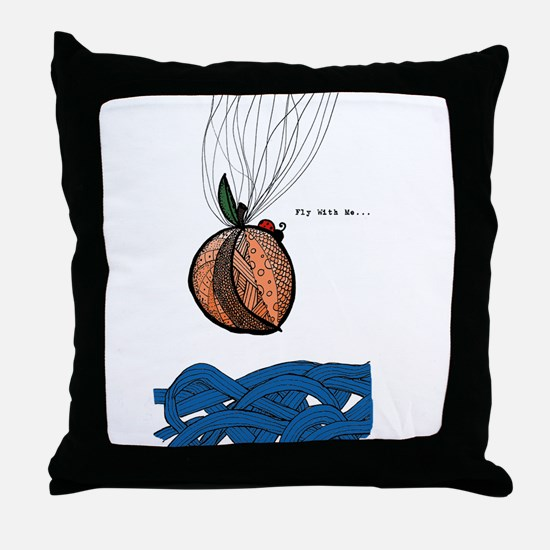 Fly With Me Throw Pillow