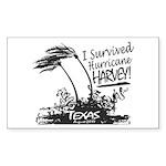 I Survived Hurricane Har Sticker (Rectangle 10 pk)