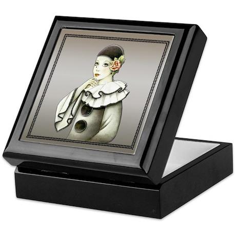 Harlequin # 2 Keepsake Box