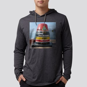 Key West marker Mens Hooded Shirt