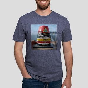 Key West marker Mens Tri-blend T-Shirt