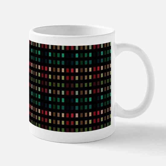 6-Tone Plaid Mug