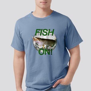 Musky fish on! Mens Comfort Colors Shirt