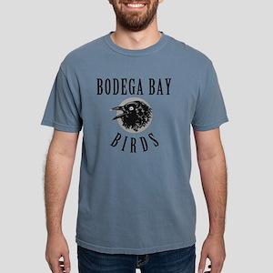 Bodega-Bay-School-Birds. Mens Comfort Colors Shirt
