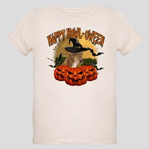 Happy Halloween Greyhound Organic Kids T-Shirt