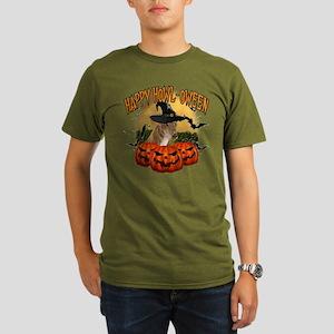 Happy Halloween Greyhound Organic Men's T-Shir