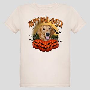 Happy Halloween Golden Retriever Organic Kids