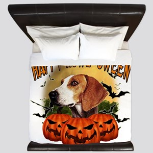 Happy Halloween Foxhound King Duvet