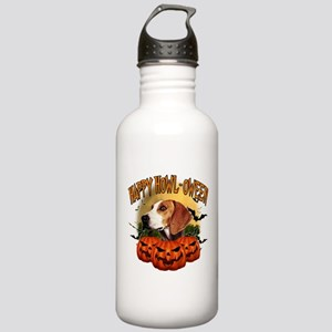 Happy Halloween Foxhound Stainless Water Bottl
