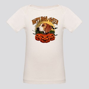 Happy Halloween Foxhound Organic Baby T-Shirt