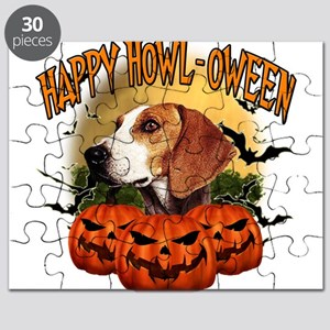 Happy Halloween Foxhound Puzzle
